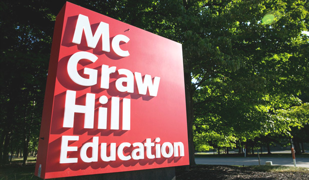 McGraw Hill Education signage