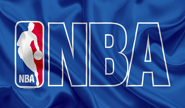 The NBA logo