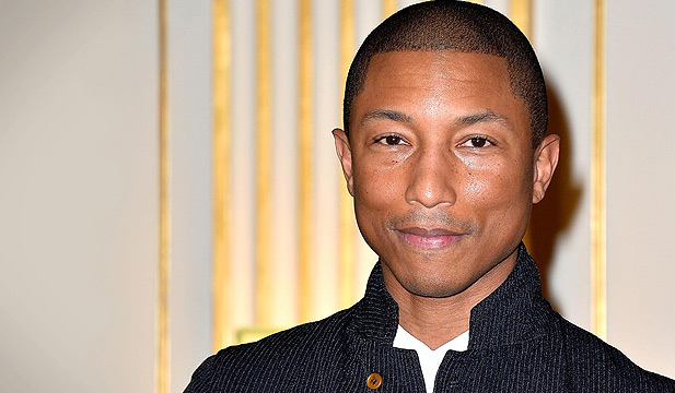 Photo portrait of Pharrell Williams