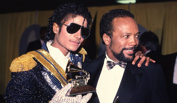 Quincy Jones with Michael Jackson