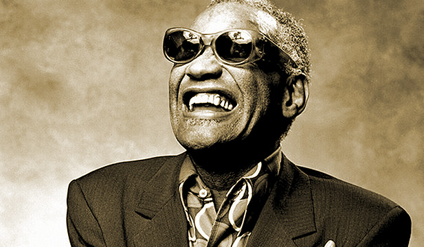 Photo portrait of Ray Charles